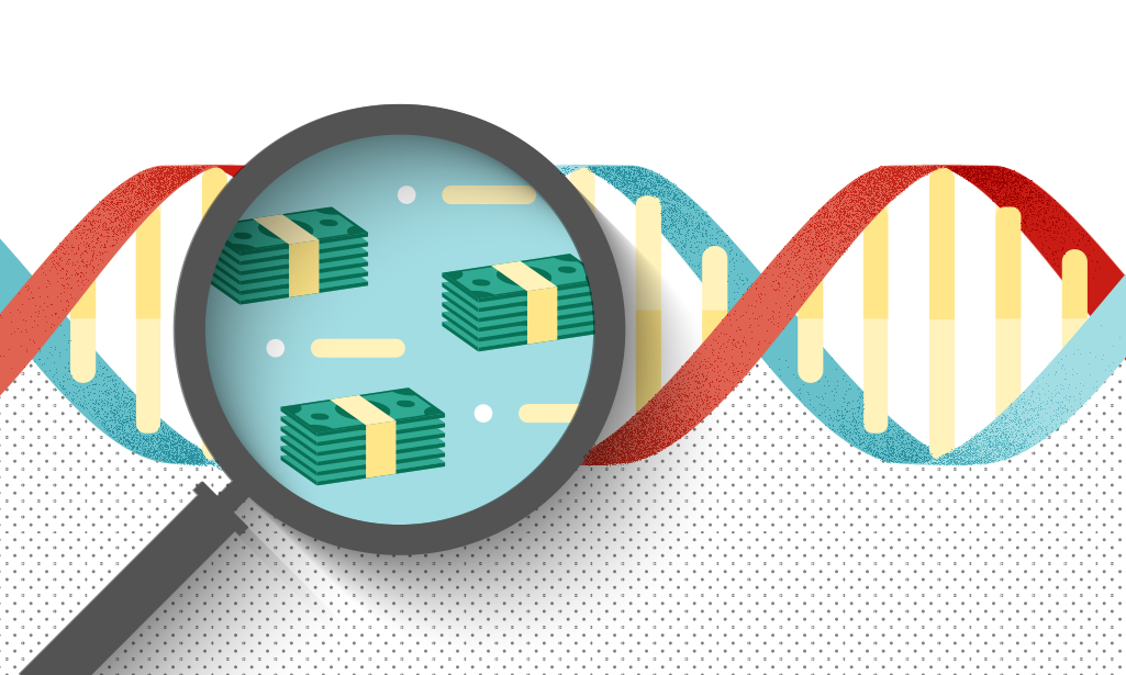 Is the credit scoring written in your DNA?